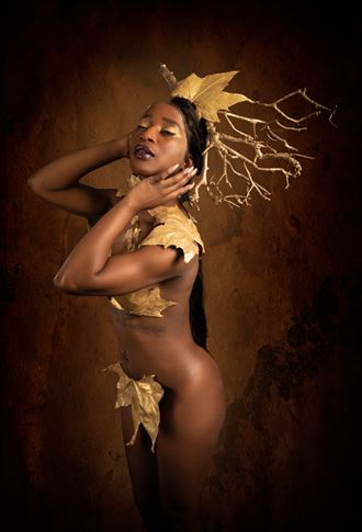 nature queen artistic nude photo by photographer henney