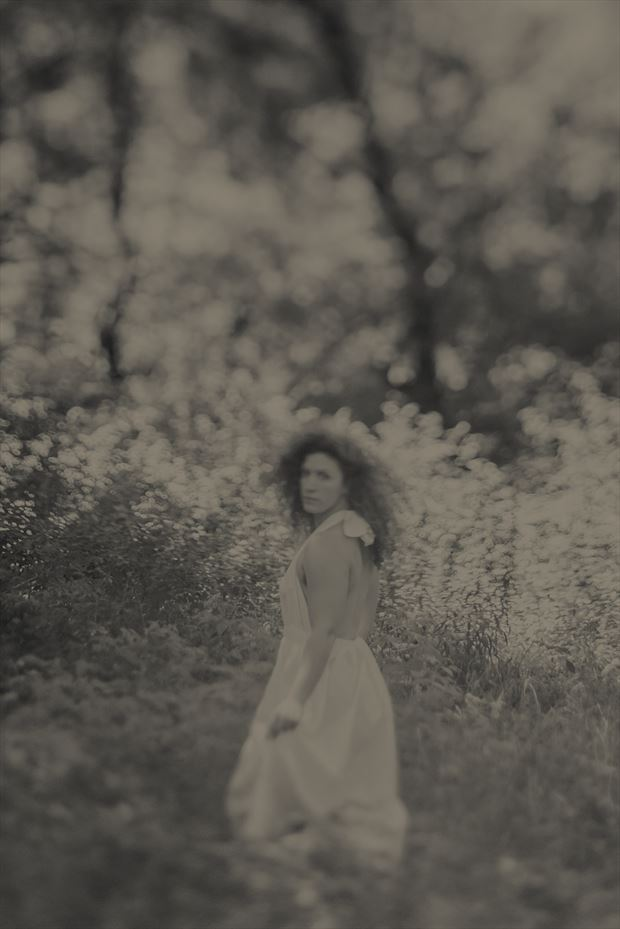nature soft focus photo by model madeline reynolds