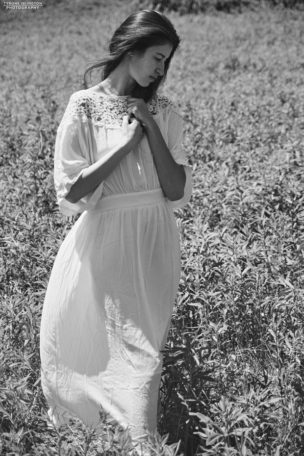 nature vintage style photo by model vittoria
