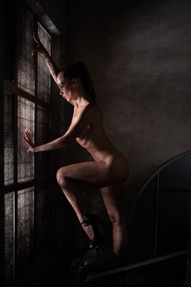 near the window artistic nude photo by photographer arcis