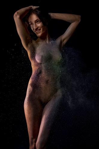 nebula girl artistic nude photo by photographer eric delaforce