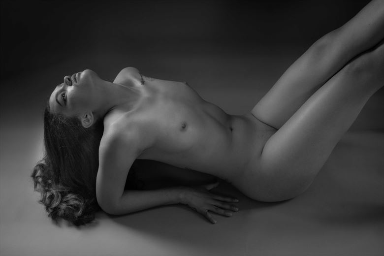 neck artistic nude photo by photographer allan taylor