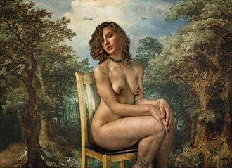 nepeta cataria artistic nude photo by photographer tom gore