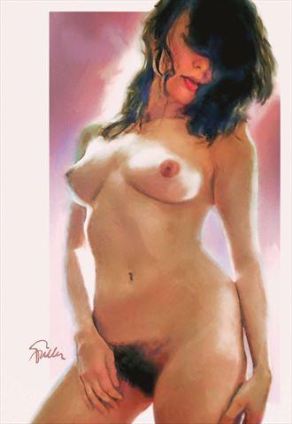 never too much helen erotic artwork by artist van evan fuller