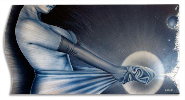 nexus implied nude artwork by artist a d cook