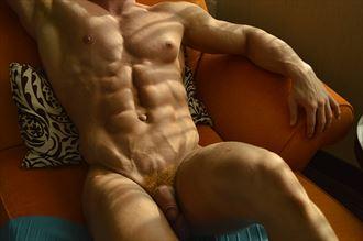 nick morning shadows artistic nude photo by photographer dan simoneau