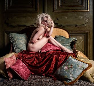 nicole artistic nude photo by photographer ray fritz