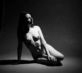nicole may artistic nude artwork by model nicole may