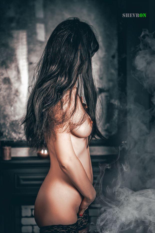 night smoke erotic photo by photographer shevron