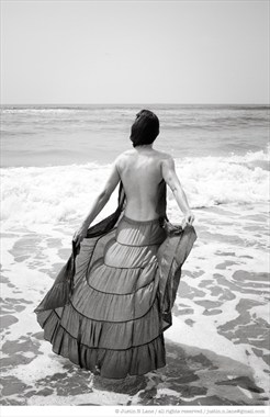 nina, scalloped skirt 072114 Fashion Photo by Photographer Justin N Lane