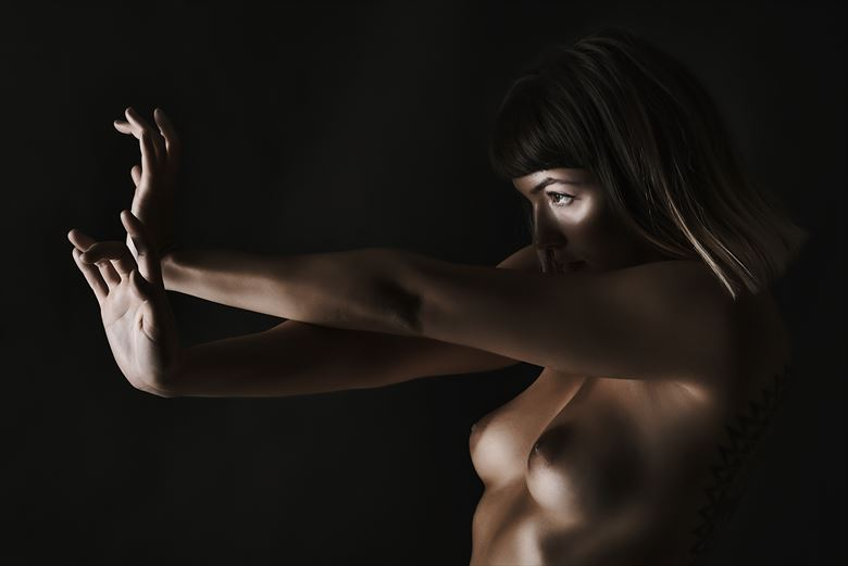 ninette artistic nude photo by photographer larbcn