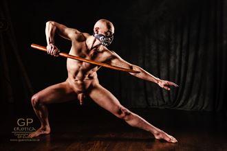 ninja 1 artistic nude photo by model nudedancer
