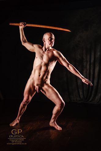 ninja 2 artistic nude photo by model nudedancer
