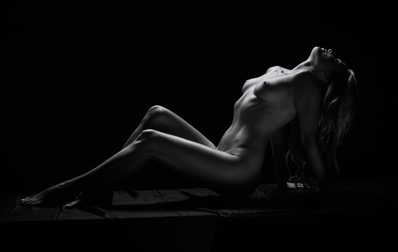noir goddess session 1 artistic nude artwork by photographer julian i