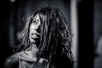 noir photography lingerie photo by model sabamodel