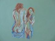 not me Artistic Nude Artwork by Artist Mattman