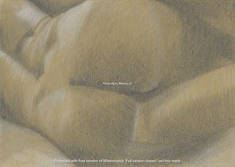 not now i want to rest artistic nude artwork by artist alexandros makris