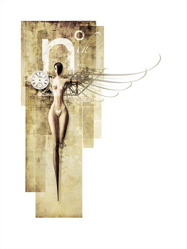 nth degree fantasy artwork by artist john morris sculptor