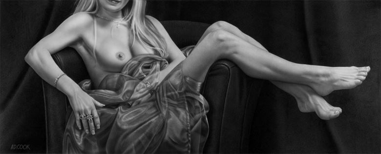 nuance artistic nude artwork by artist a d cook