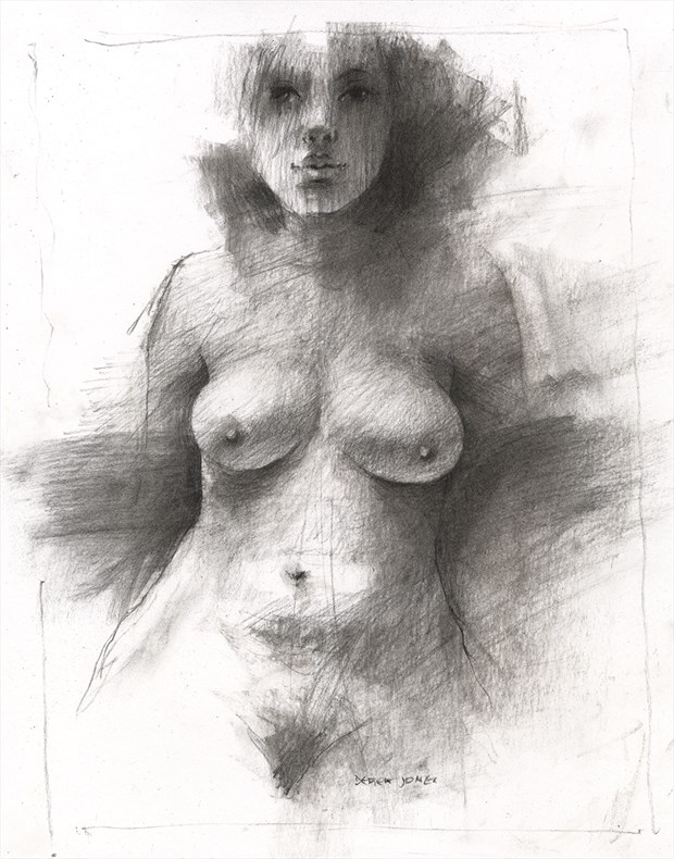 nude Artistic Nude Artwork by Artist JonD