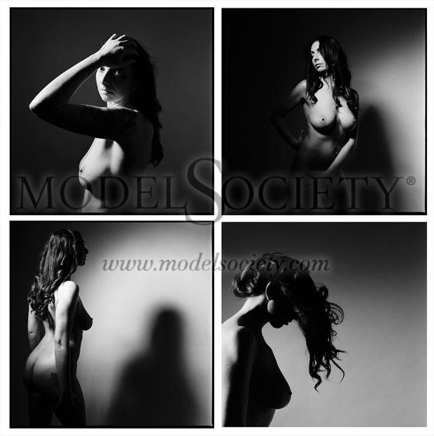 nude artistic nude photo by model annalisa model