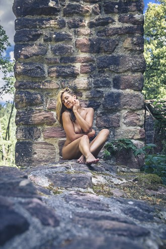 nude at the wall nature photo by photographer sk photo