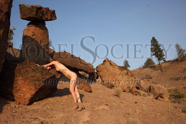 nude in nature artistic nude artwork by model missshawnak