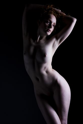 nude in shadows 2 artistic nude artwork by photographer ian athersych