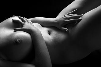nude in shadows artistic nude artwork by photographer ian athersych