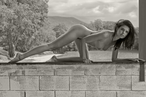 nude in the landscape artistic nude photo by photographer miguel soler roig