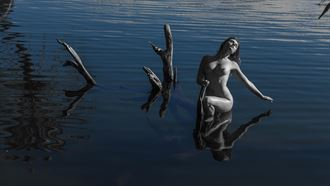 nude in water artistic nude photo by photographer avs kumar