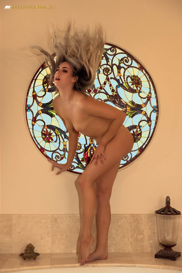 nude mosaic no 2 artistic nude photo by model alexandra queen