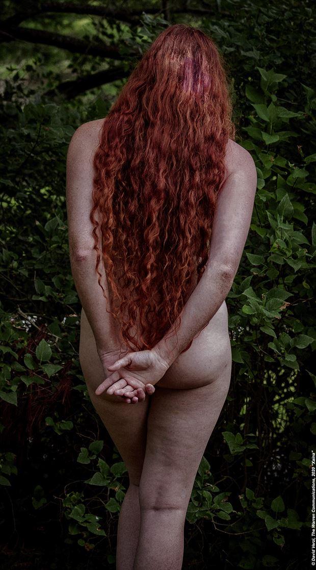 nude naturally nature photo by model xaina fairy
