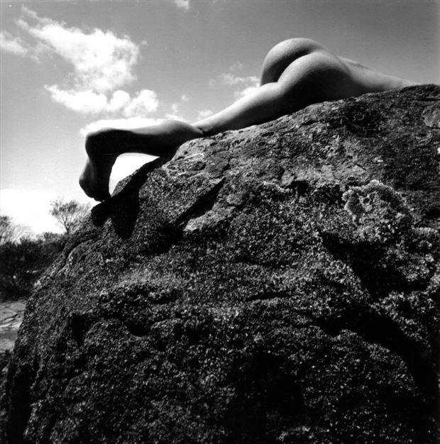 nude on rock abyssinia rocks western australia surreal photo by photographer jbaphoto