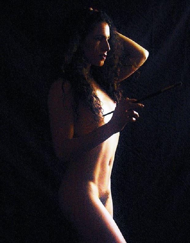 nude painting studio lighting photo by photographer evoleye arts