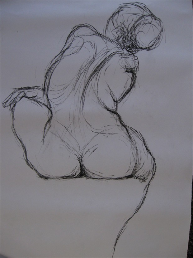nude study 1 Figure Study Artwork by Photographer jymdarling