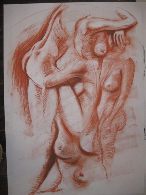 nude study 2 Figure Study Artwork by Photographer jymdarling