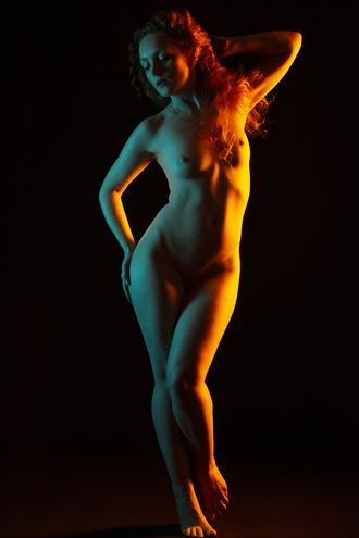 nude with highlights artistic nude artwork by photographer ian athersych