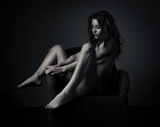 odette wicker chair 1 artistic nude photo by photographer thatzkatz