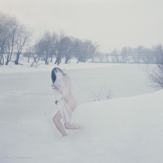 of frozen rivers Artistic Nude Photo by Photographer Anca Cernoschi