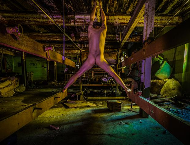 old factory Sensual Artwork by Model Naked Freedom