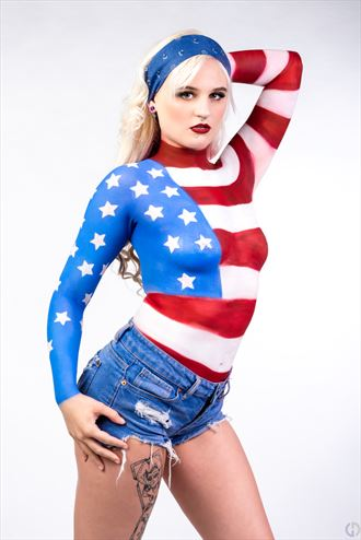 old glory body painting photo by photographer dan granger