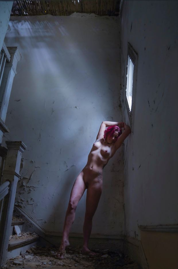 old house artistic nude photo by photographer sparklephotosc