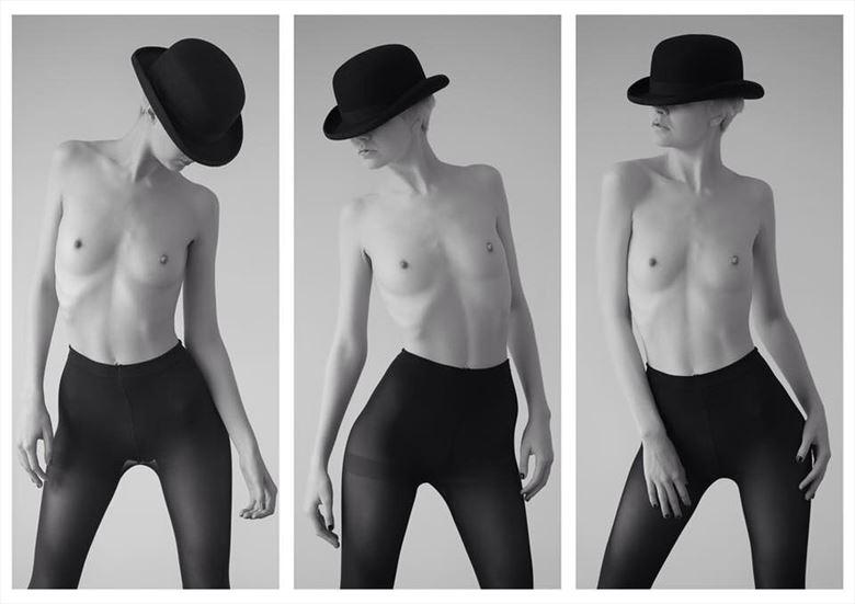 older work artistic nude photo by model atalanta