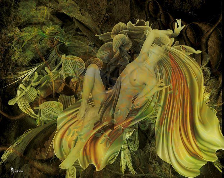 olinda artistic nude artwork by artist digital desires