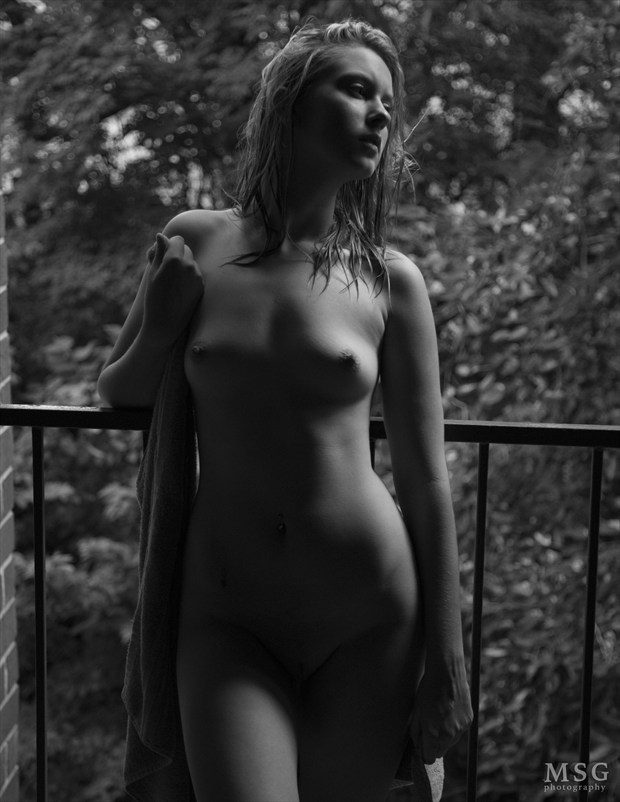 on Balcony 3 Artistic Nude Photo by Photographer MSG Photography