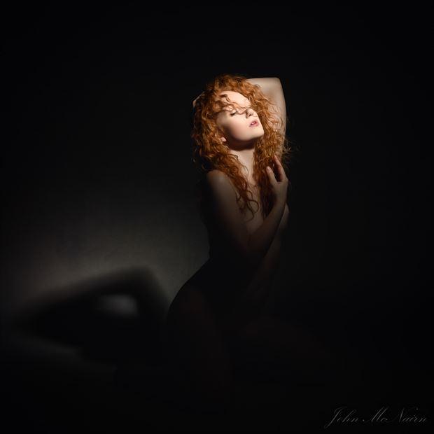 on a blood moon sensual photo by photographer rascallyfox