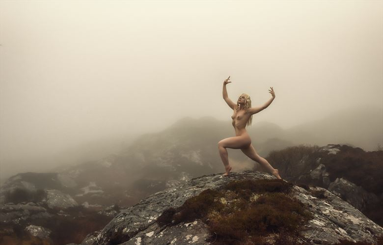 on a misty morning artistic nude photo by photographer rascallyfox