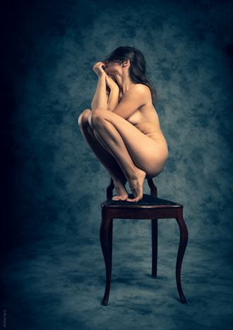 on edge artistic nude photo by photographer bo michal