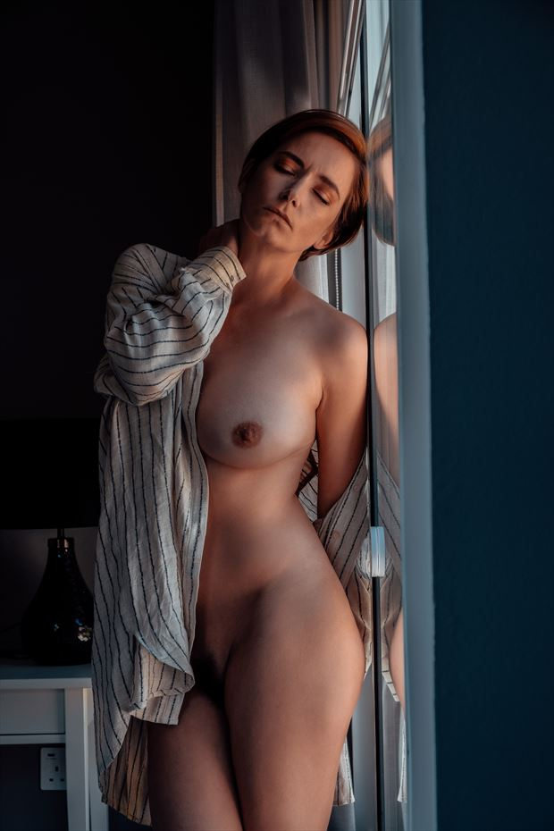 on reflection artistic nude photo by photographer neilh